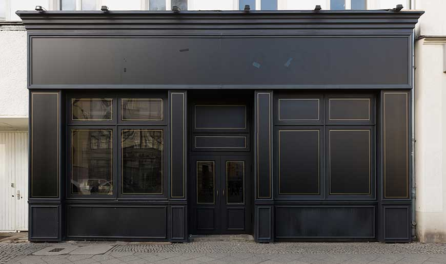 timber shop fronts